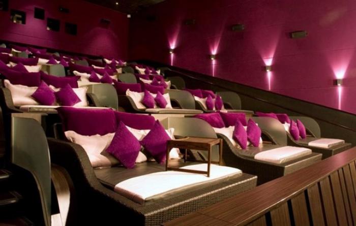 Phát sốt với rạp cinema giường nằm siêu đẳng cấp chỉ có ở Sài Thàn5h