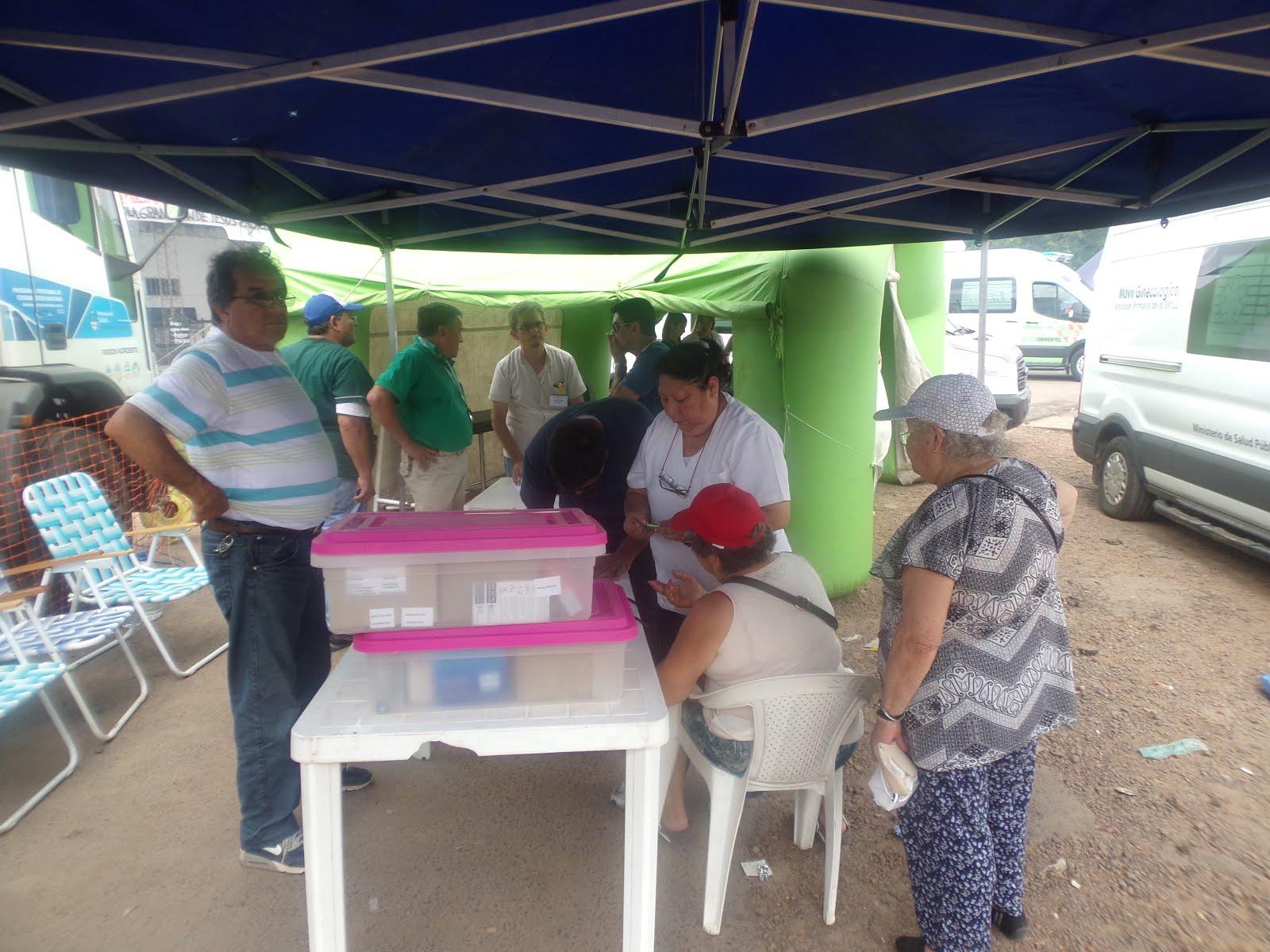 Amplio Operativo Sanitario En El Predio Del Gaucho Gil Solfm