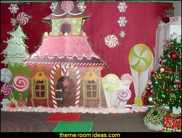 christmas party decorating props Sugar Plum Kit christmas decorations christmas party decor