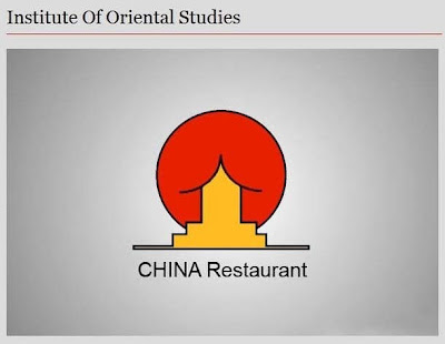 witzige Bilder China Restaurant Zeichen