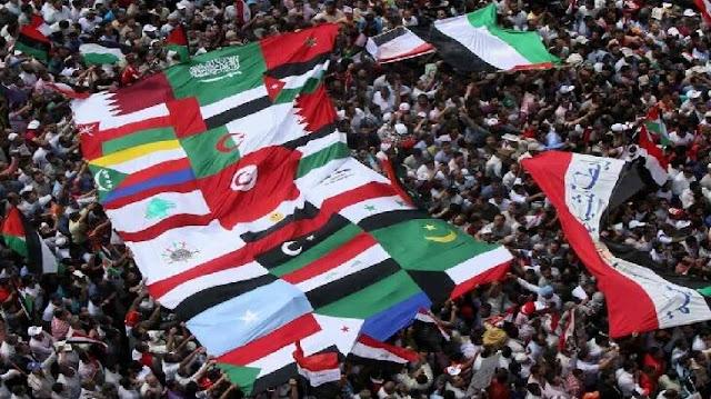 موضوع تعبير عن الوحدة العربية بالعناصر