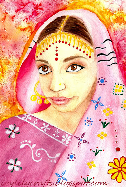 indian portrait painting