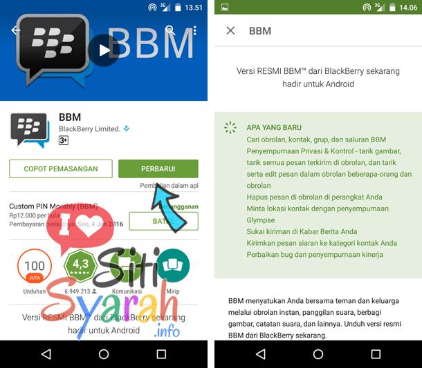 BBM v.2.11 terbaru untuk Android