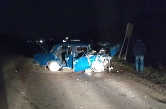 В Башкирии столкнулись иномарка и «семерка»: погибла женщина