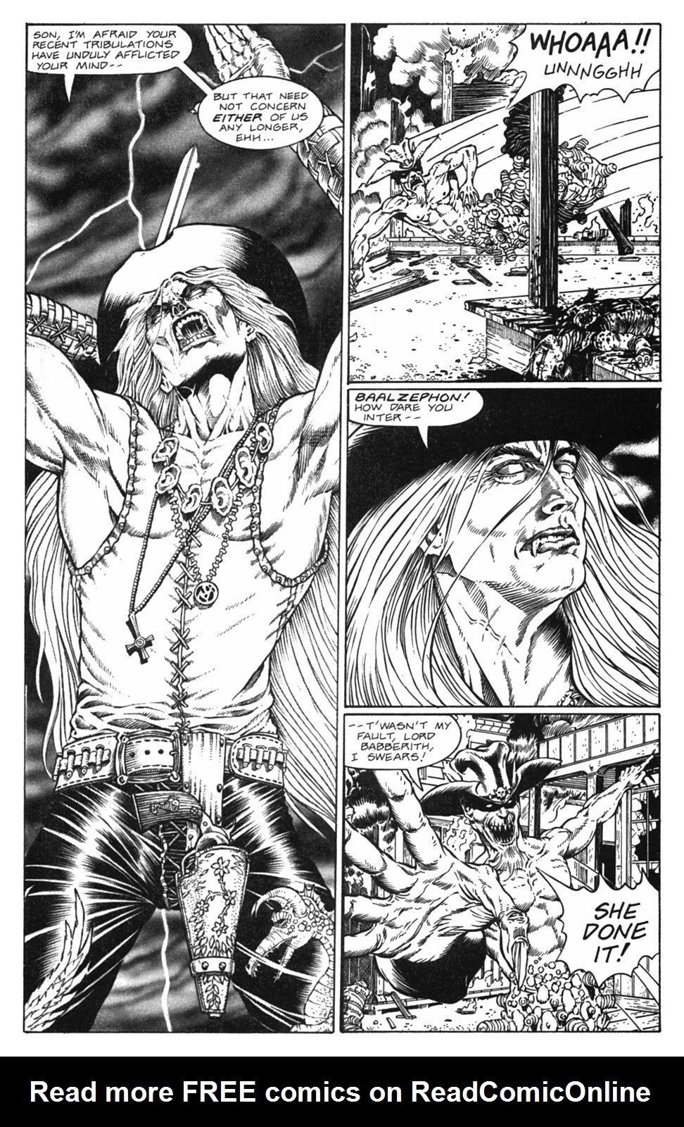 Read online Gunfighters in Hell comic -  Issue #5 - 29