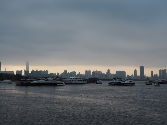 View of the Island from Kwun Tong, New Territories, Hong Kong