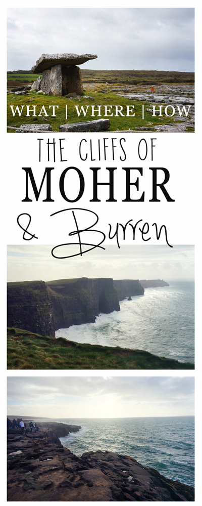 How to see the Cliffs of Moher and The Burren Pinterest