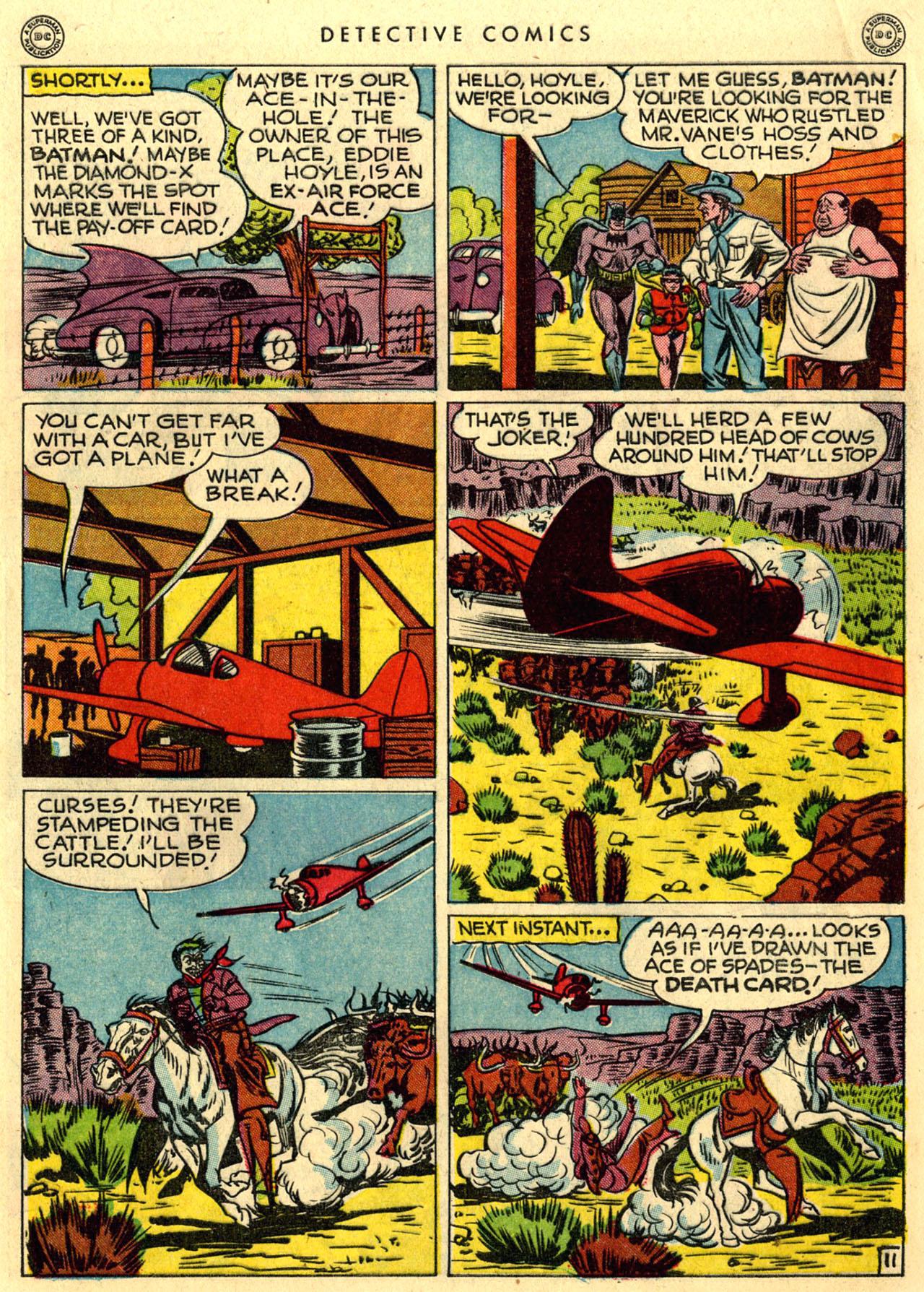 Read online Detective Comics (1937) comic -  Issue #118 - 13