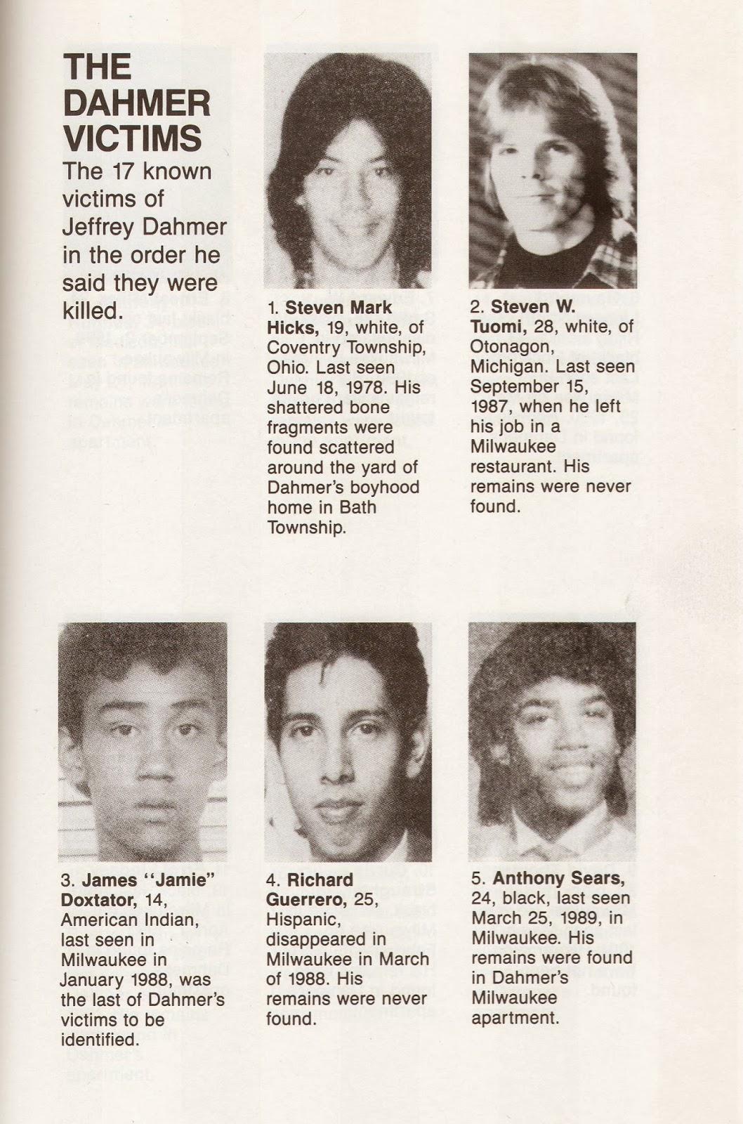 los angeles d466a 44940 Jeffrey dahmer fotos de sus victimas 67