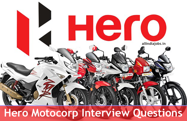 Hero Motocorp Interview Questions (Technical, HR ) For Freshers and