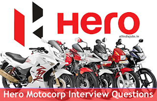 Hero Motocorp Interview Questions