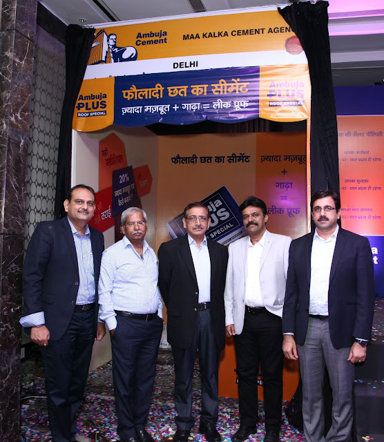 Ambuja Cement launches AMBUJA PLUS- Roof Special in Delhi NCR & Uttarakhand