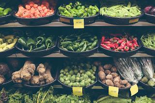 Buah dan sayur organik