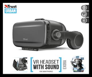 TRUST 22019 VR 3D CUFFIE