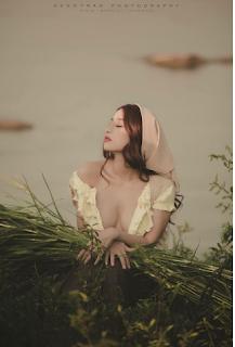 Gái xinh facebook Kim Lê mì gõ