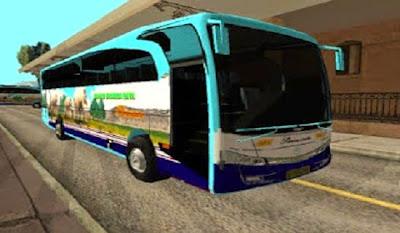 Mod Bus Safari Dharma Raya (Hino)