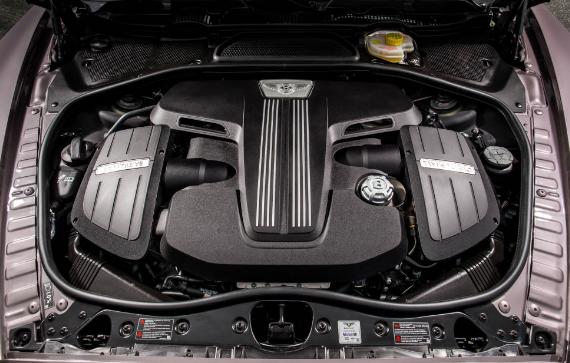 2017 Bentley Bentayga Engine