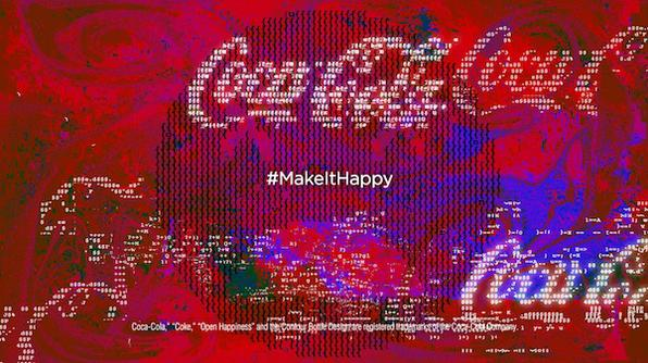 Coca Cola, Make It Happy