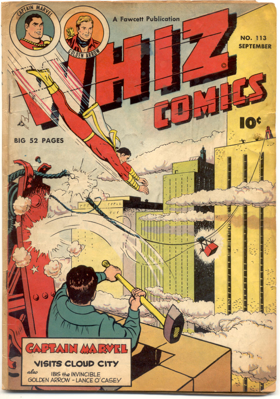 WHIZ Comics 113 Page 1