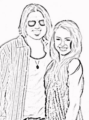hannah montana halloween coloring pages-#12