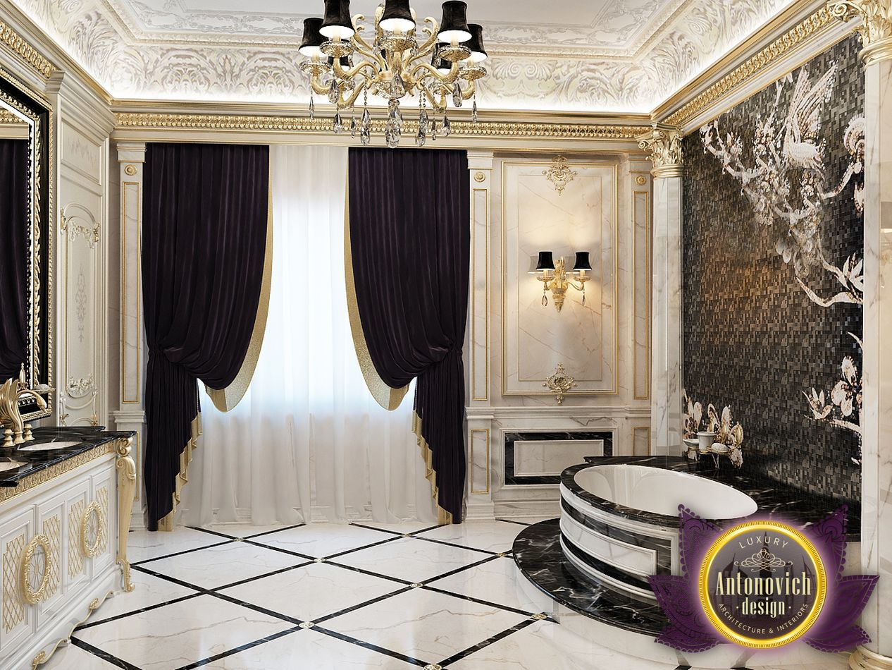 Luxury Antonovich Design Uae Bathroom Design From Luxury Antonovich Design