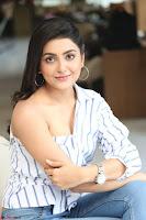 Avantika Mishra in One Shoulder Crop Top and Denim Jeggings ~  Exclusive 044.JPG