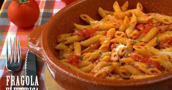 Penne all 39 arrabbiata fragola elettrica le ricette di ennio for Piatto tipico romano