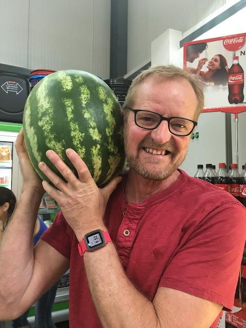 watermelons in Cyprus #mysundayphoto