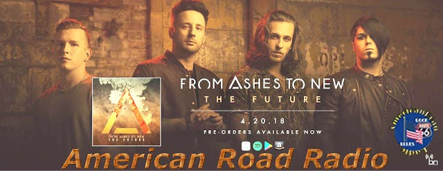 From Ashes to New ,the future of Rock ,on air by #American Road Radio (video)