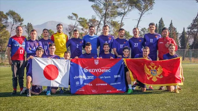 Montenegro Unlikely Stepping Stone for Japanese Footballers