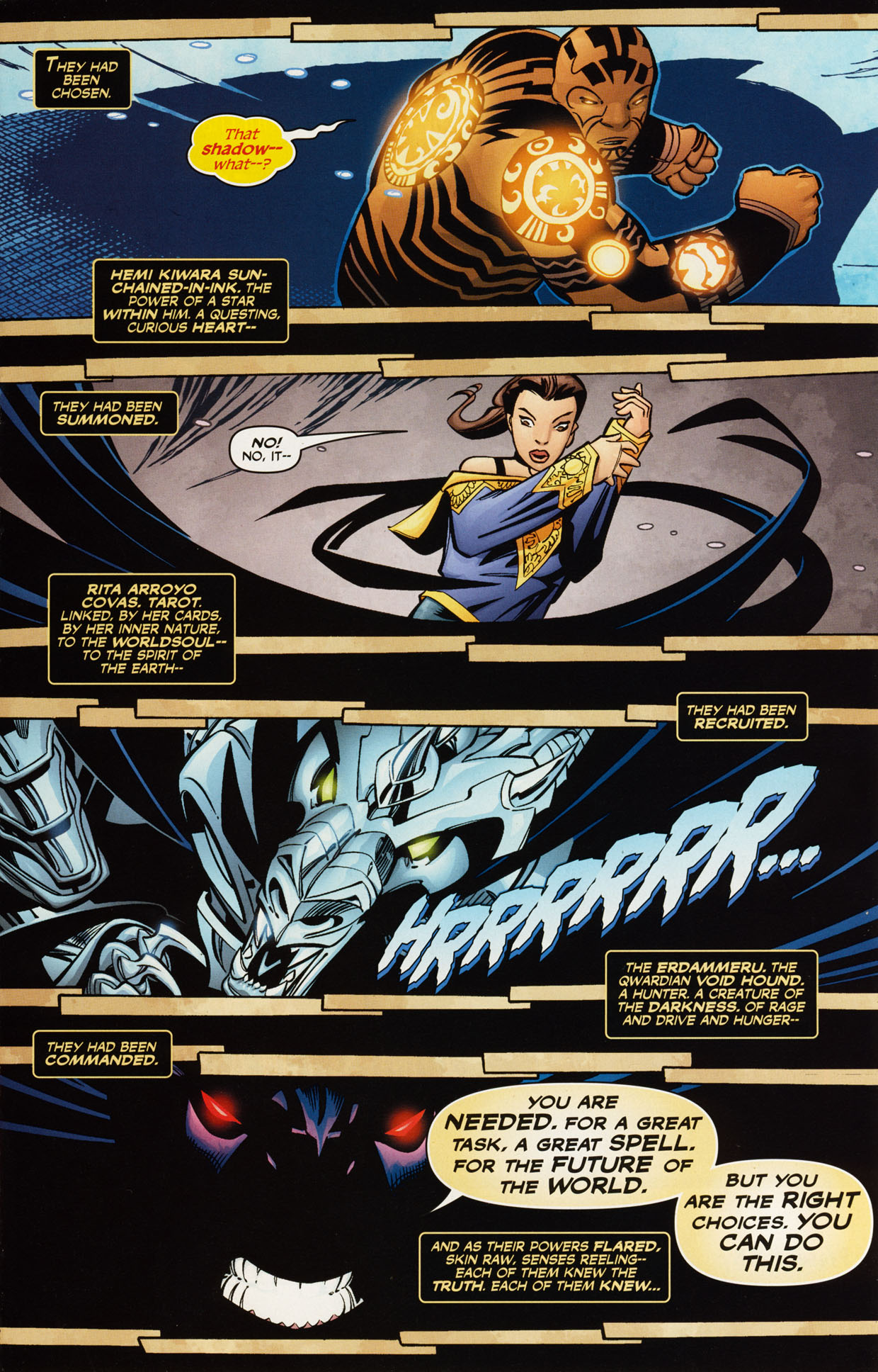 Read online Trinity (2008) comic -  Issue #48 - 17