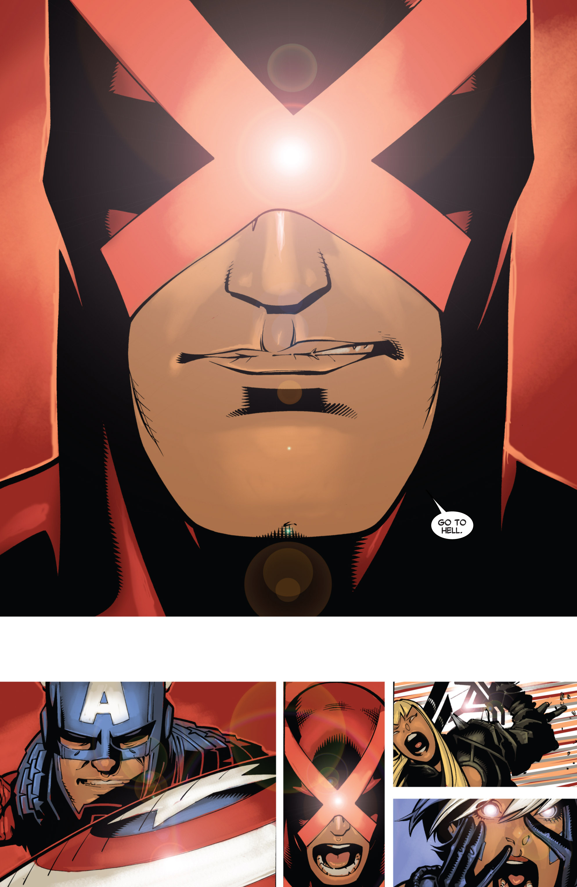 Read online Uncanny X-Men (2013) comic -  Issue # _TPB 1 - Revolution - 55