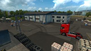 ets2 mods, recommendedmodsets2, Frkn64's Modern Garage Mod, euro truck simulator 2 mods, ets2 realistic mods, ets 2 modern garage mod v1.3 screenshots3
