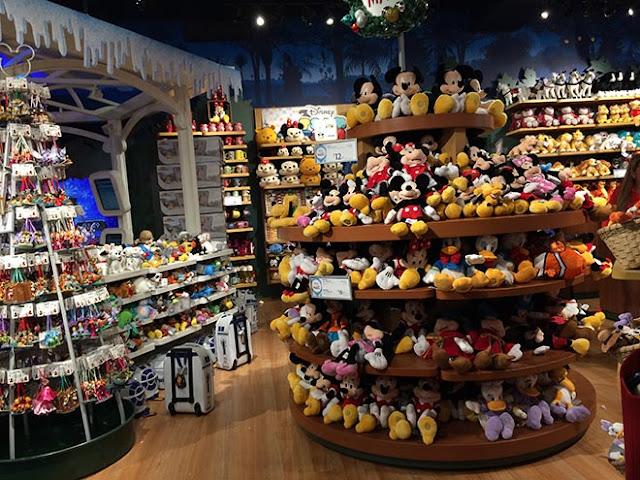Informações da Disney Store em Miami