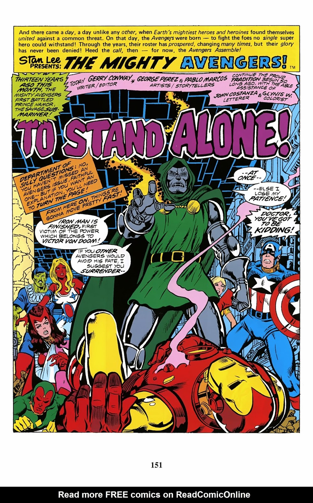 Read online Avengers: The Private War of Dr. Doom comic -  Issue # TPB (Part 2) - 52