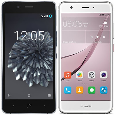 bq Aquaris X5 Plus vs Huawei Nova