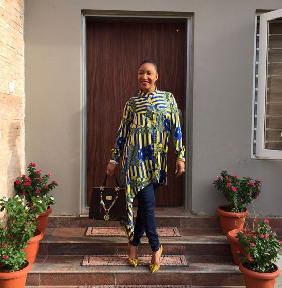 Tonto Dikeh shares new photos as she moves out of husband's house