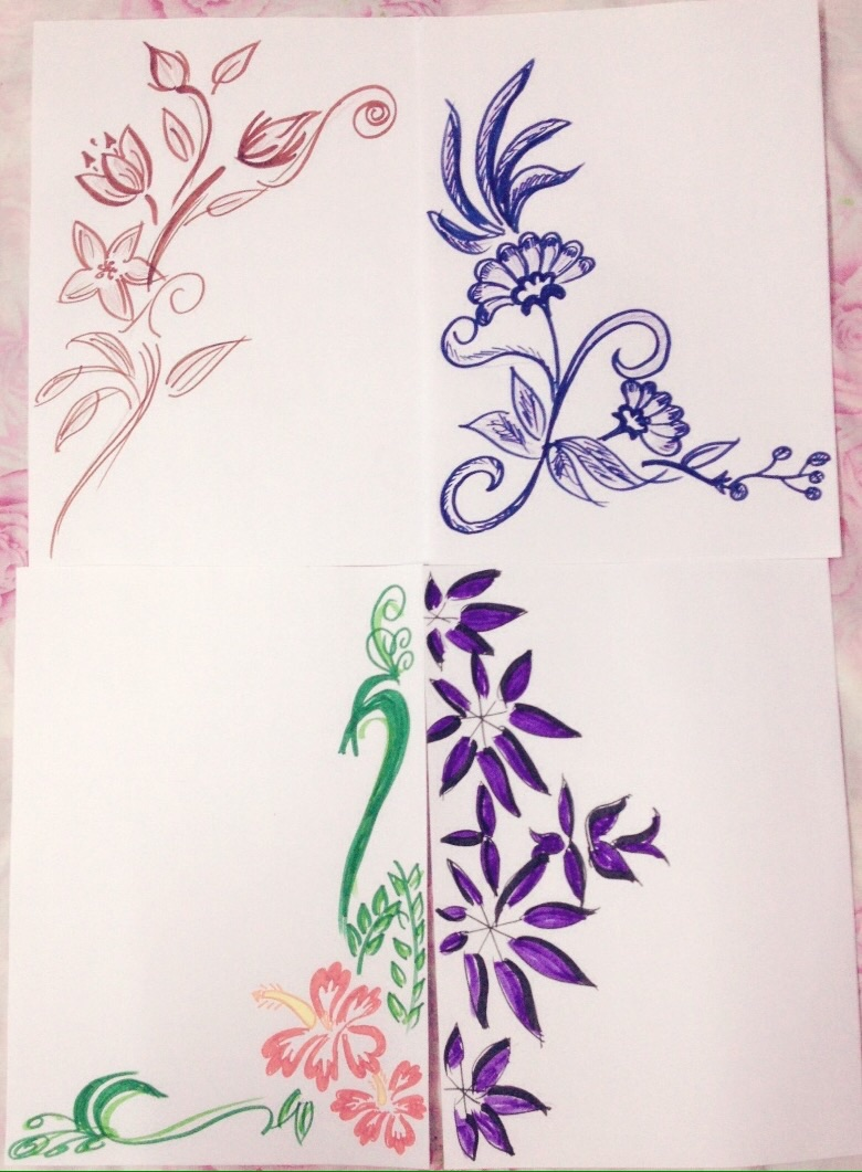 Border Designs For School Project...: Simple Border Designs