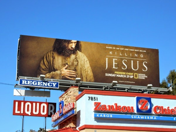 Killing Jesus film billboard