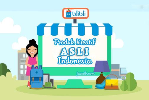 Galeri Produk Kreatif Asli Indonesia di Toko Online Blibli.com