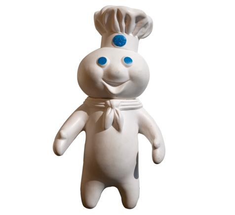 Pillsbury Dough Boy Binging On Cake Cookies