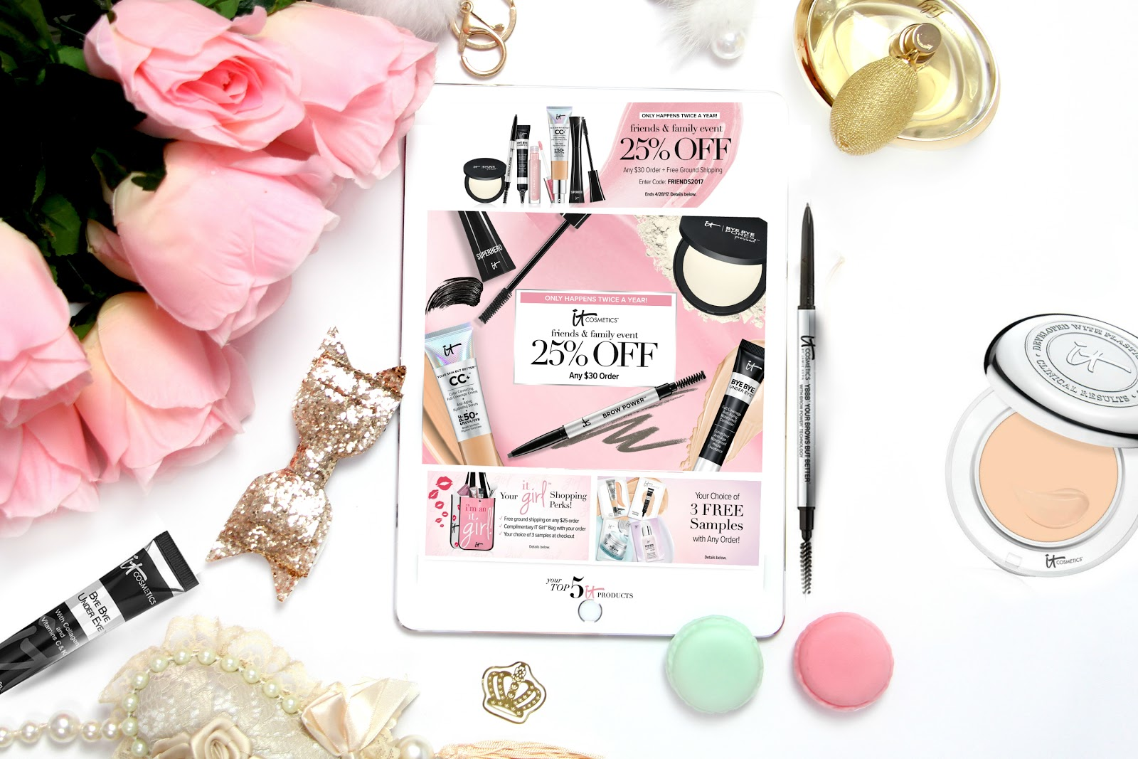 Itcosmetics Family And Friends Event With 25% Off by barbies beauty bits