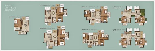 Purva Silver Sands Floor plan