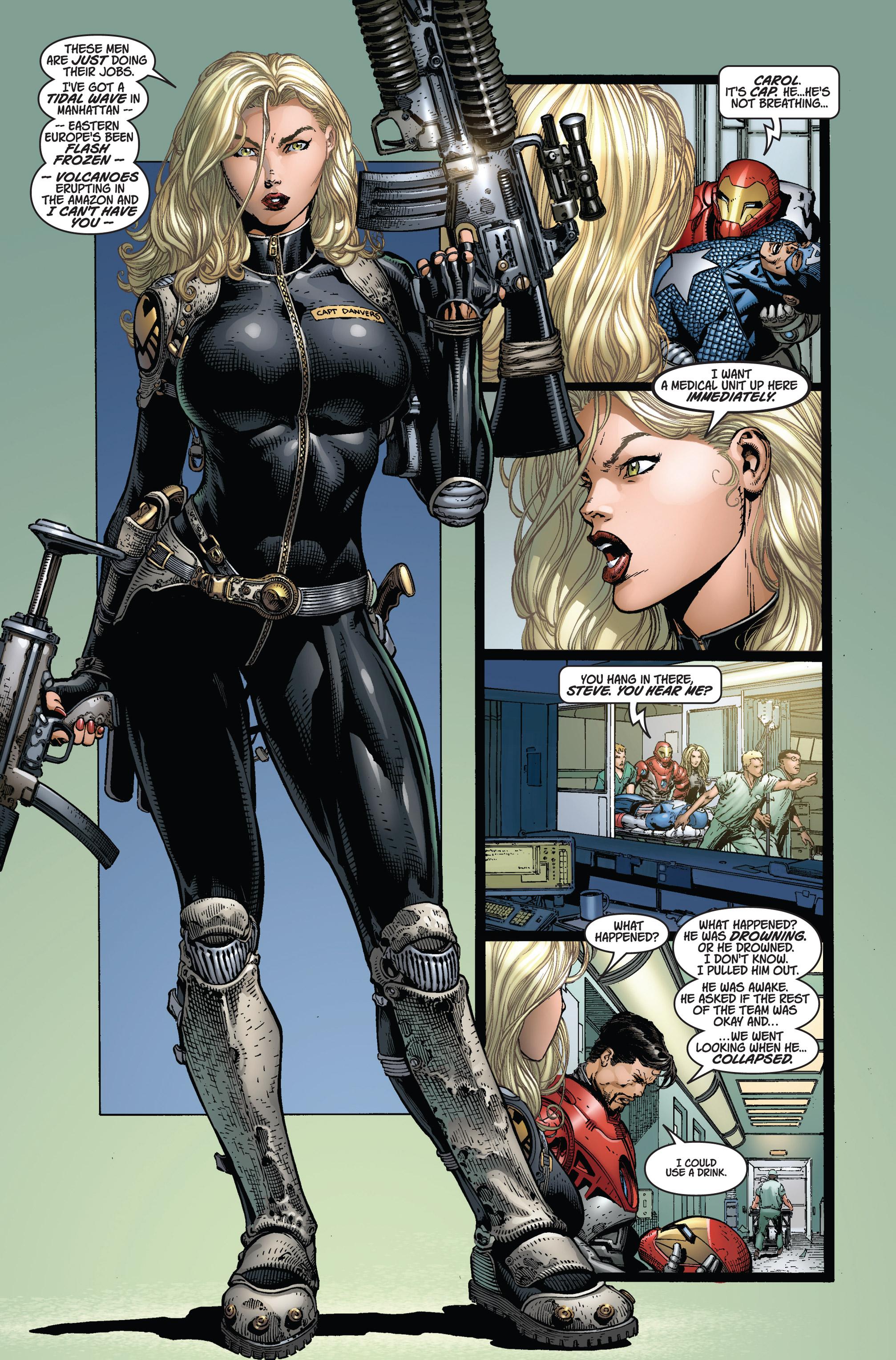 Read online Ultimatum comic -  Issue #2 - 7