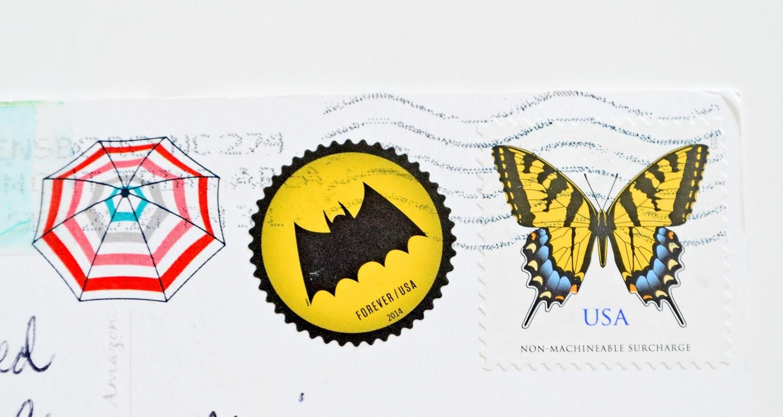 znaczki z usa