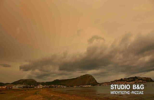 Γ. Καλλιάνος: Σκόνη, υγρασία δυνατοί άνεμοι, χαλάζι και ...38°C τη Δευτέρα