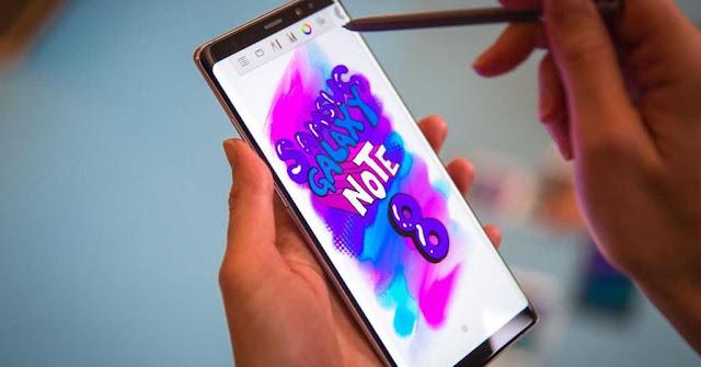 بعد إنفجارات بطارية سامسونج نوت 7 ظهور مشكل البطارية من جديد في هاتف نوت 8 !