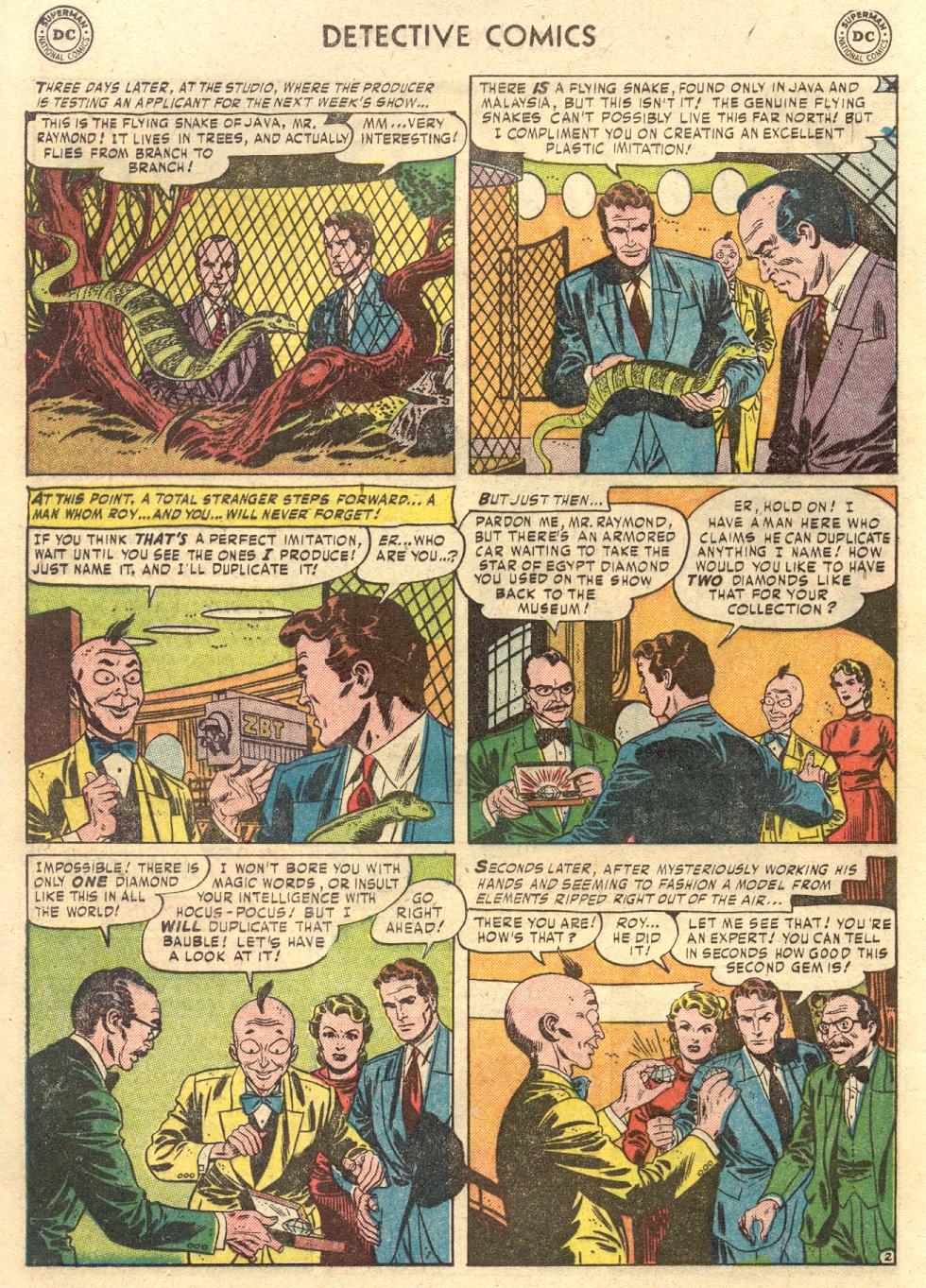 Read online Detective Comics (1937) comic -  Issue #186 - 18