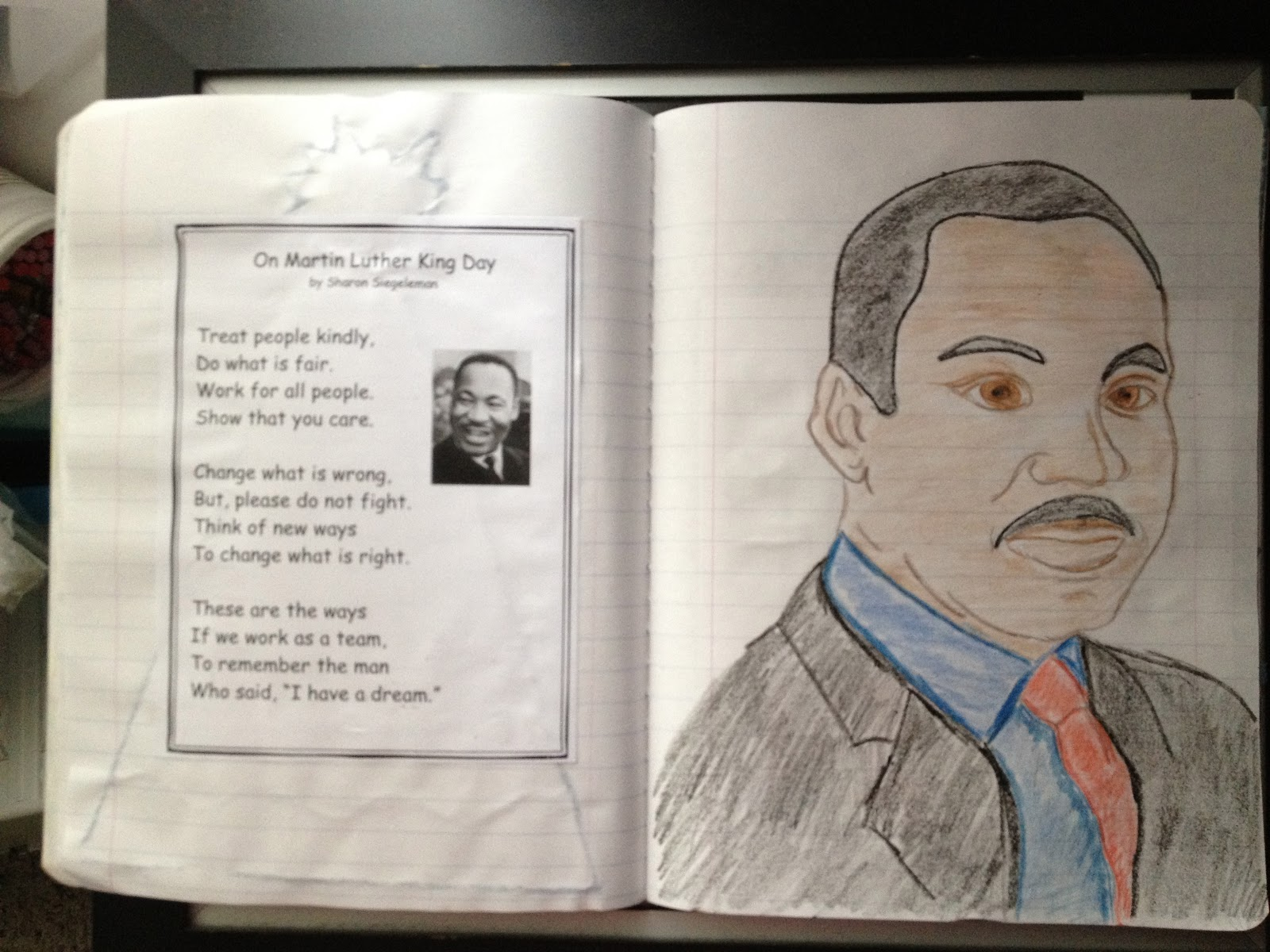 Just 4 Teachers Sharing Across Borders Martin Luther King Jr Poems And Activity
