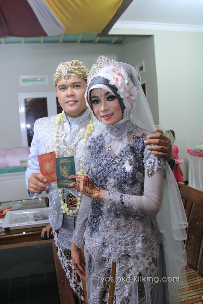 Foto Liputan Pernikahan Tyas & Joko | Bag.3 - Foto Akad Nikah Tyas & Joko - 03 Juli 2016 | Klikmg.com Fotografer Pernikahan Purwokerto